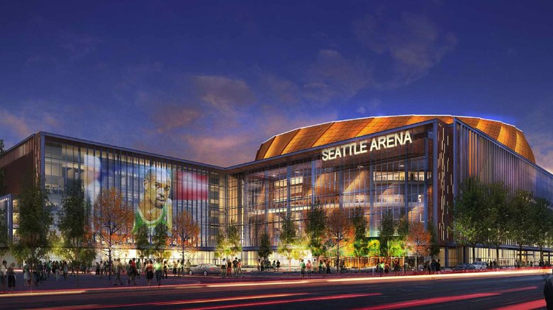 "Seattle Arena ""Proposed"""